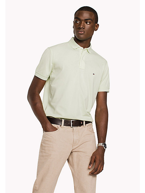 TOMMY HILFIGER Regular Fit Polo - GLEAM - TOMMY HILFIGER Clothing - main image