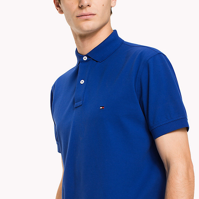 TOMMY HILFIGER Regular Fit Polo - ROSE TAN - TOMMY HILFIGER Men - detail image 2