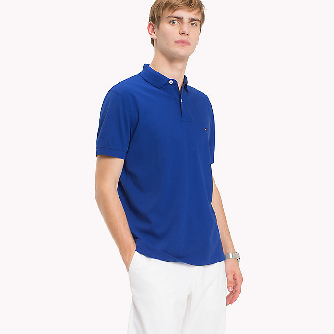 TOMMY HILFIGER Regular Fit Polo - ROSE TAN - TOMMY HILFIGER Men - main image