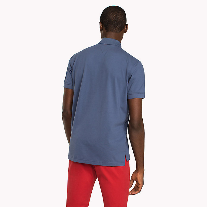 TOMMY HILFIGER Regular Fit Polo - HAUTE RED - TOMMY HILFIGER Men - detail image 1