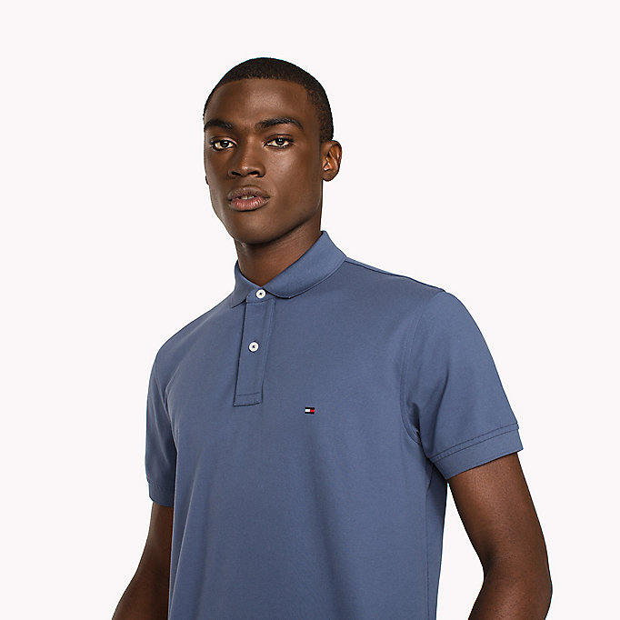 TOMMY HILFIGER Regular Fit Polo - HAUTE RED - TOMMY HILFIGER Men - detail image 2