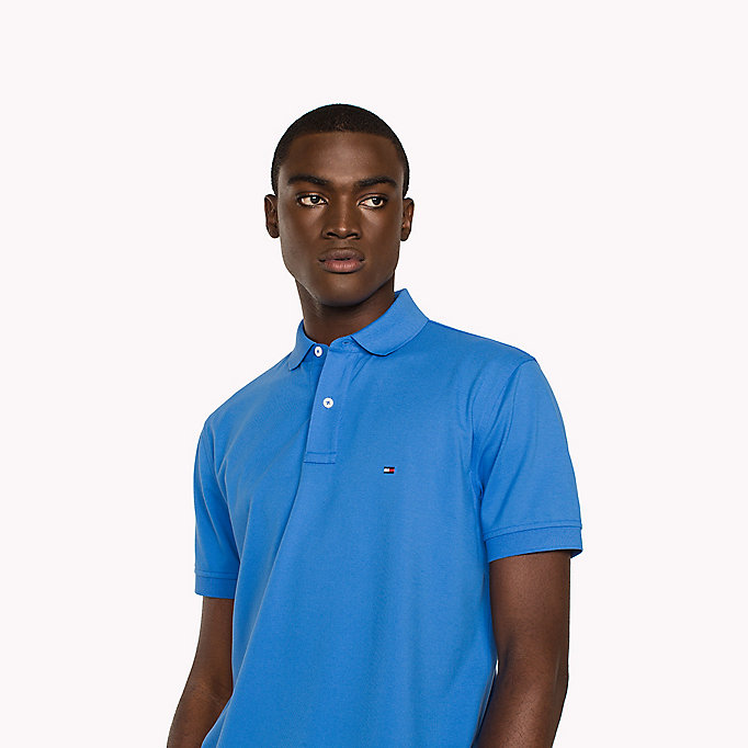 TOMMY HILFIGER Regular Fit Polo - APRICOT - TOMMY HILFIGER Men - detail image 2