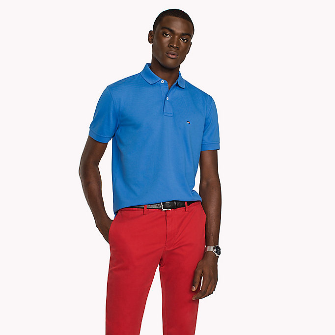 TOMMY HILFIGER Regular Fit Polo - APRICOT - TOMMY HILFIGER Men - main image