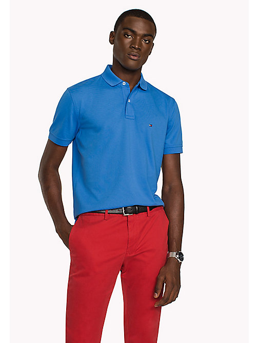 TOMMY HILFIGER Regular Fit Polo - REGATTA - TOMMY HILFIGER Polo Shirts - main image