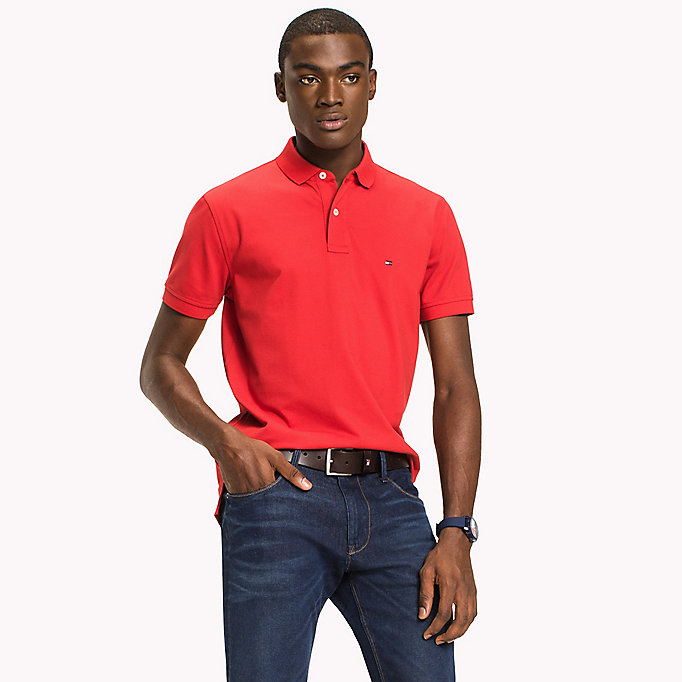 TOMMY HILFIGER Regular Fit Polo - DEEP DEPTHS - TOMMY HILFIGER Men - main image