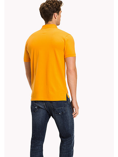 TOMMY HILFIGER Regular Fit Polo - APRICOT - TOMMY HILFIGER Polo Shirts - detail image 1