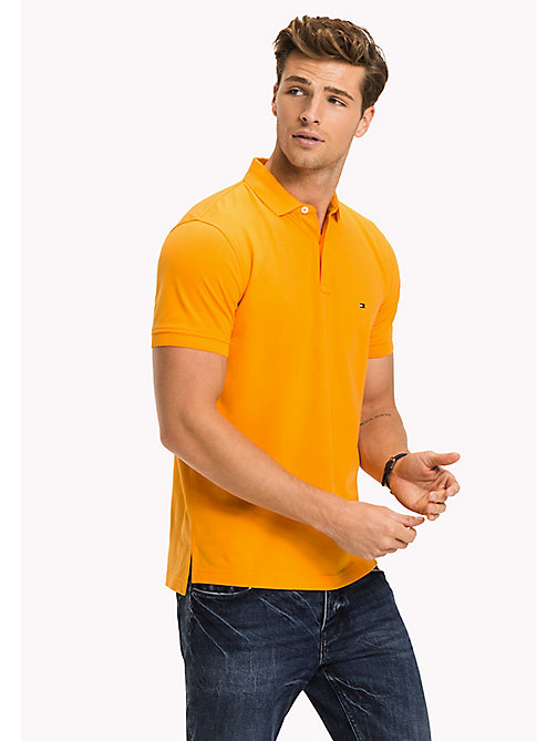 TOMMY HILFIGER Regular Fit Polo - APRICOT - TOMMY HILFIGER Polo Shirts - main image