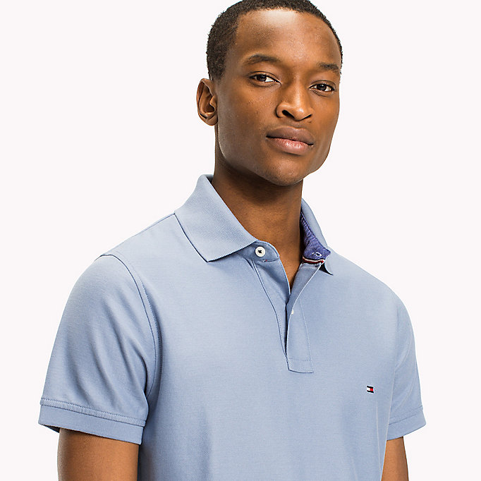 TOMMY HILFIGER Slim Fit Polo Shirt - CAPRI - TOMMY HILFIGER Men - detail image 2
