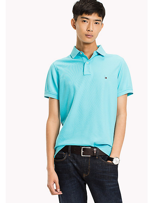 TOMMY HILFIGER Slim Fit Polo Shirt - CAPRI - TOMMY HILFIGER Clothing - main image