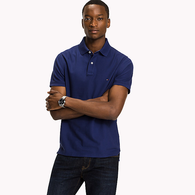 TOMMY HILFIGER Slim Fit Polo Shirt - INFINITY - TOMMY HILFIGER Clothing - main image