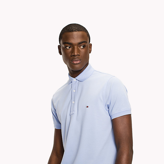 TOMMY HILFIGER Cotton Slim Fit Polo Shirt - CHUTNEY - TOMMY HILFIGER Men - detail image 2