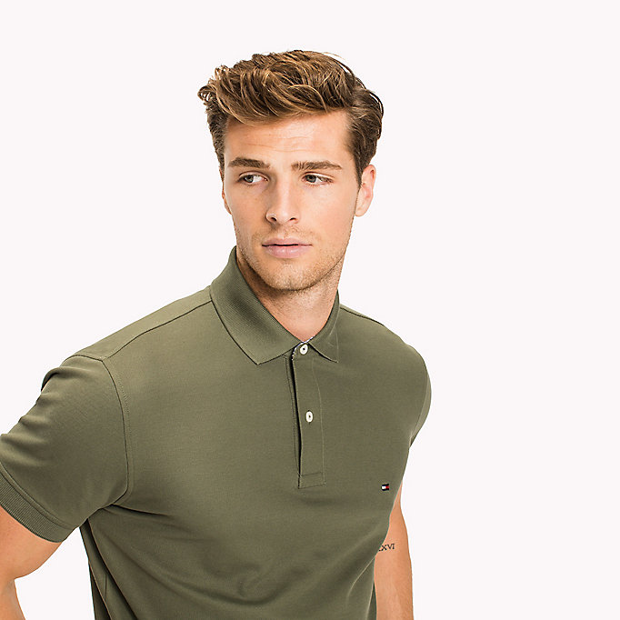 TOMMY HILFIGER Regular fit polo - MAGNET - TOMMY HILFIGER Heren - detail image 2