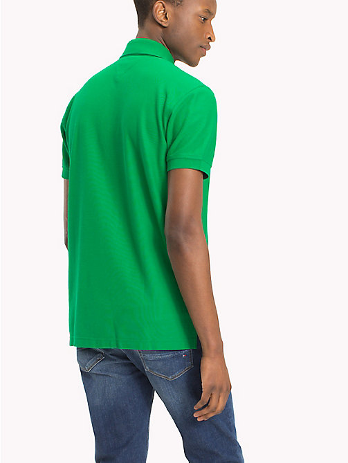 TOMMY HILFIGER Regular fit polo - JOLLY GREEN - TOMMY HILFIGER T-Shirts & Polo's - detail image 1
