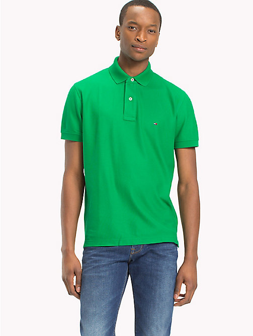TOMMY HILFIGER Regular fit polo - JOLLY GREEN - TOMMY HILFIGER T-Shirts & Polo's - main image