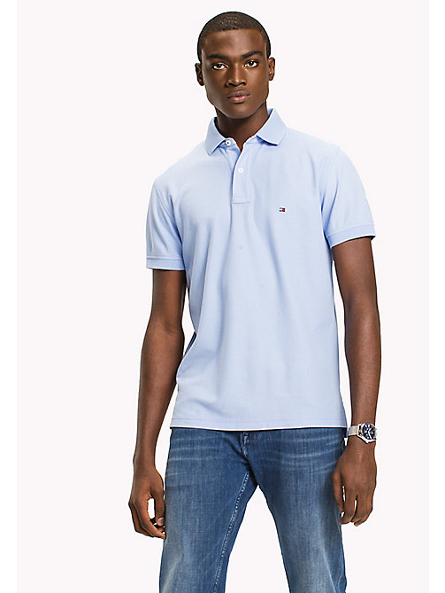 TOMMY HILFIGER Regular Fit Polo Shirt - SERENITY - TOMMY HILFIGER Polo Shirts - main image