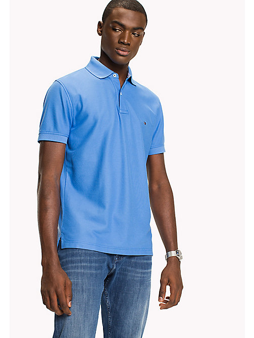 TOMMY HILFIGER Regular Fit Polo Shirt - REGATTA - TOMMY HILFIGER Polo Shirts - main image