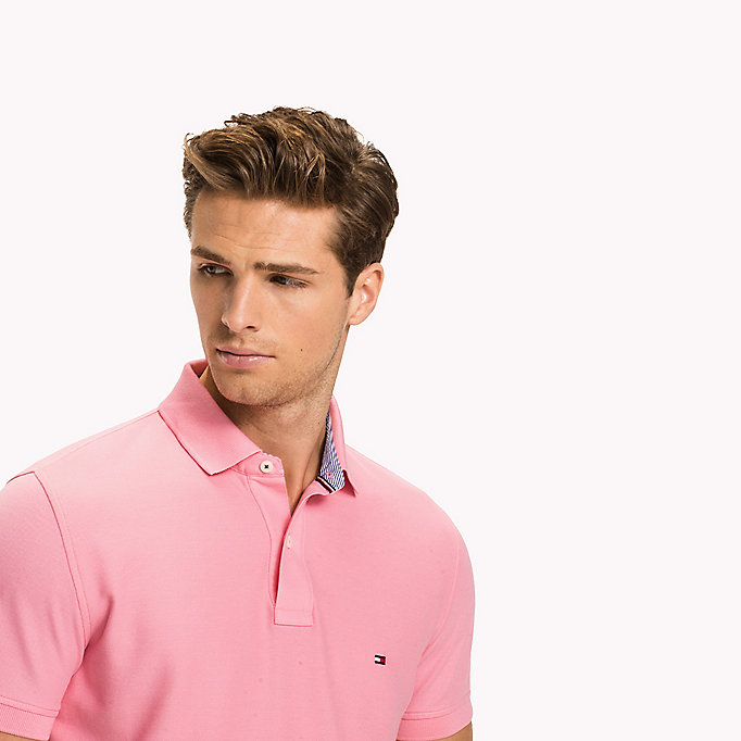 TOMMY HILFIGER Regular fit polo - REGATTA - TOMMY HILFIGER Heren - detail image 2