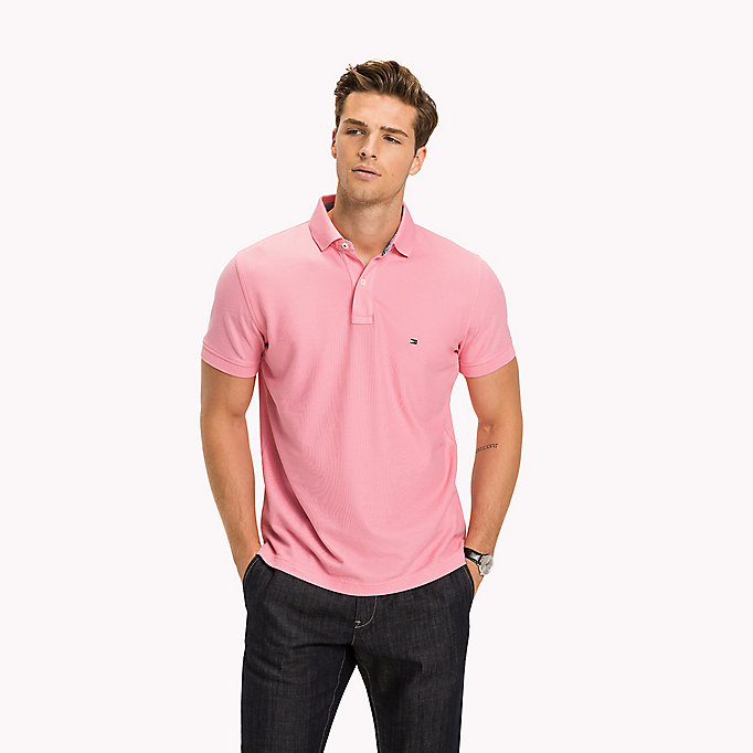 TOMMY HILFIGER Regular fit polo - REGATTA - TOMMY HILFIGER Heren - main image