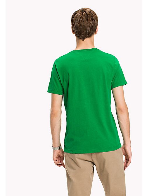 TOMMY HILFIGER Printed Regular Fit T-Shirt - JOLLY GREEN - TOMMY HILFIGER T-Shirts - detail image 1