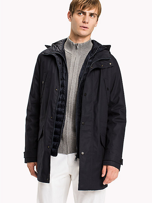TOMMY HILFIGER Hooded 3-in-1 Parka - SKY CAPTAIN - TOMMY HILFIGER Coats & Jackets - main image