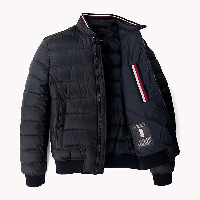 TOMMY HILFIGER Down Bomber - DEEP DEPTHS - TOMMY HILFIGER Clothing - detail image 4