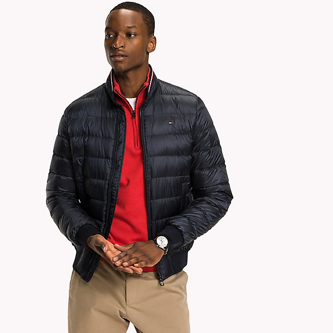 TOMMY HILFIGER Down Bomber - DEEP DEPTHS - TOMMY HILFIGER Clothing - main image