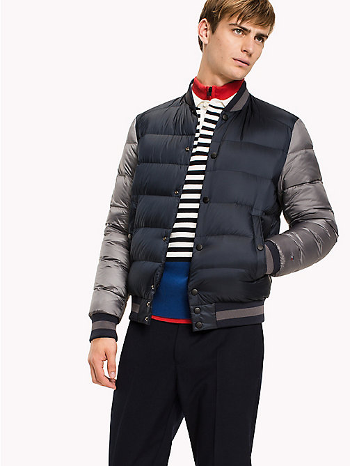 TOMMY HILFIGER Down Bomber - SKY CAPTAIN - TOMMY HILFIGER Coats & Jackets - main image