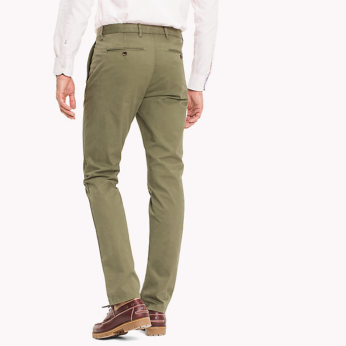 TOMMY HILFIGER Denton Chinos - MAZARINE BLUE - TOMMY HILFIGER Men - detail image 1
