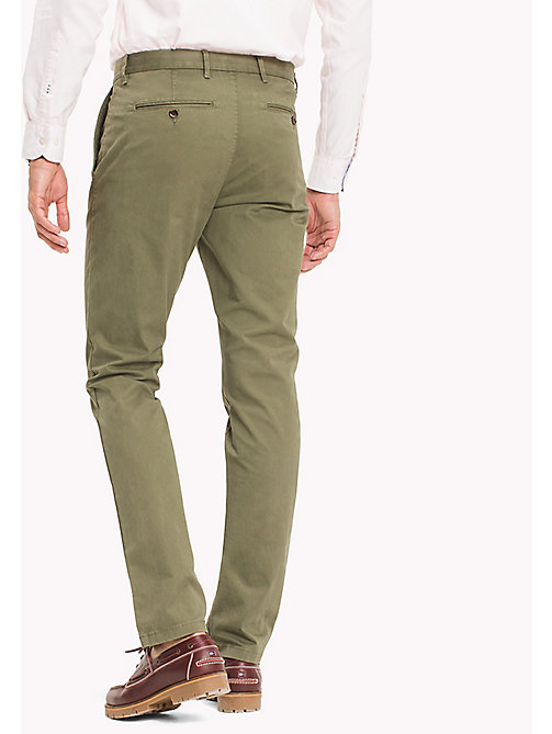 TOMMY HILFIGER Denton Chinos - FOUR LEAF CLOVER - TOMMY HILFIGER Trousers - detail image 1