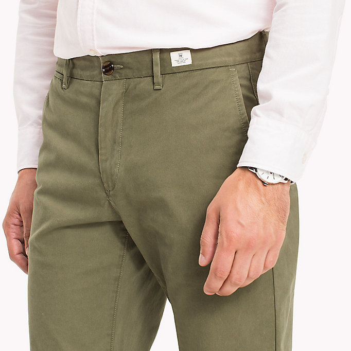 TOMMY HILFIGER Denton Chinos - MAZARINE BLUE - TOMMY HILFIGER Men - detail image 3