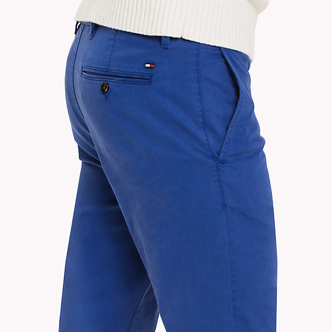 TOMMY HILFIGER Denton Chinos - DARK DENIM - TOMMY HILFIGER Men - detail image 4