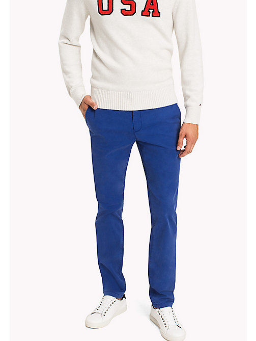 TOMMY HILFIGER Denton Chinos - MAZARINE BLUE - TOMMY HILFIGER Trousers - main image