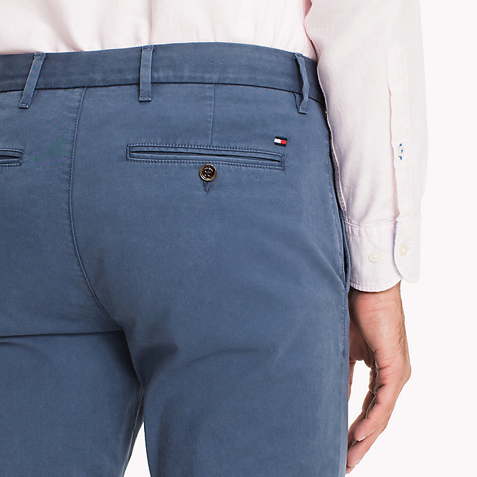 TOMMY HILFIGER Denton Chinos - GRAY VIOLET - TOMMY HILFIGER Men - detail image 3