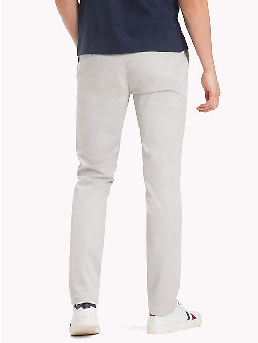 TOMMY HILFIGER Denton Chinos - GRAY VIOLET - TOMMY HILFIGER Sustainable Evolution - detail image 1