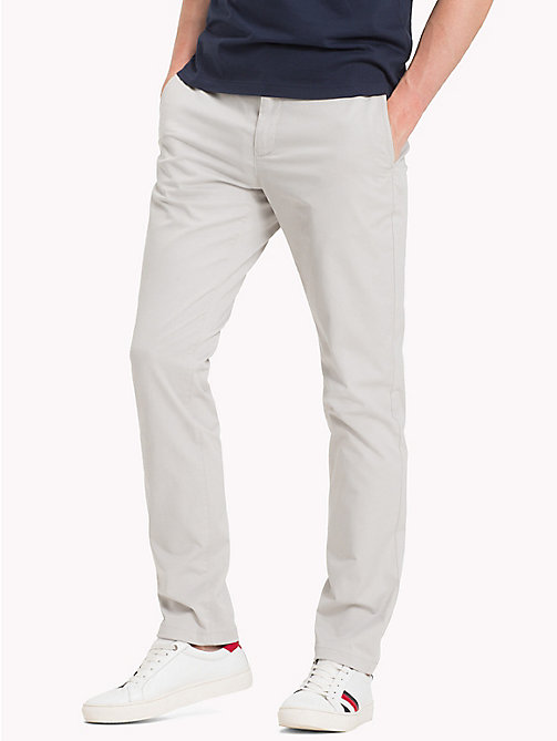 TOMMY HILFIGER Chino Denton - GRAY VIOLET - TOMMY HILFIGER Sustainable Evolution - image principale