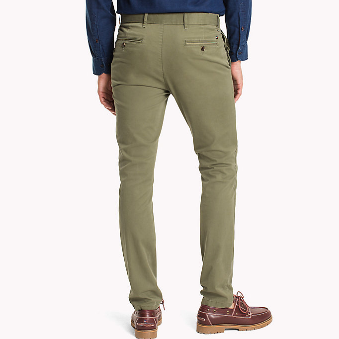 TOMMY HILFIGER Slim Fit Chino - MAGNET - TOMMY HILFIGER Clothing - detail image 1