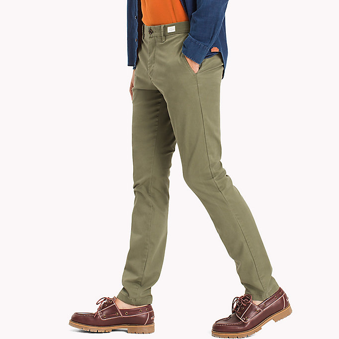 TOMMY HILFIGER Slim Fit Chino - MAGNET - TOMMY HILFIGER Clothing - detail image 2