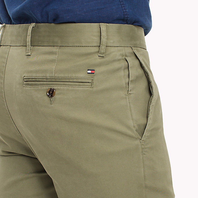 TOMMY HILFIGER Slim Fit Chino - MAGNET - TOMMY HILFIGER Clothing - detail image 3