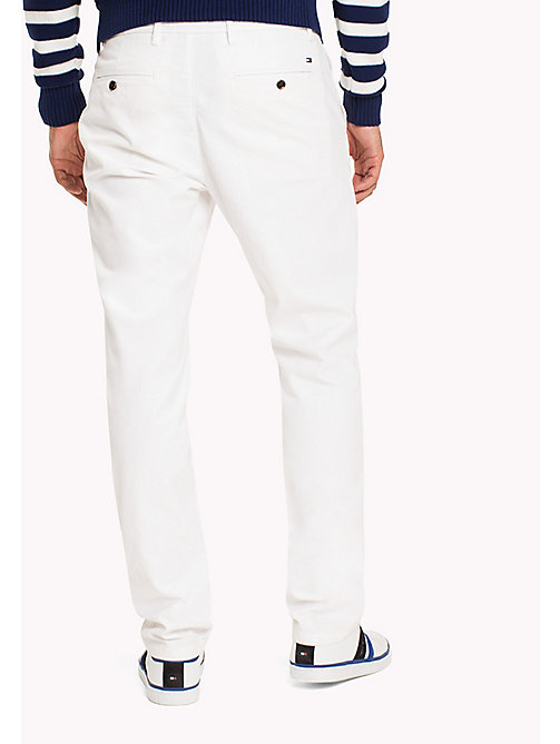 TOMMY HILFIGER Mercer Chinos - BRIGHT WHITE - TOMMY HILFIGER Trousers - detail image 1