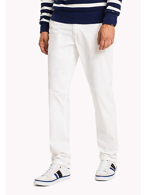 TOMMY HILFIGER Mercer Chinos - BRIGHT WHITE - TOMMY HILFIGER Sustainable Evolution - main image