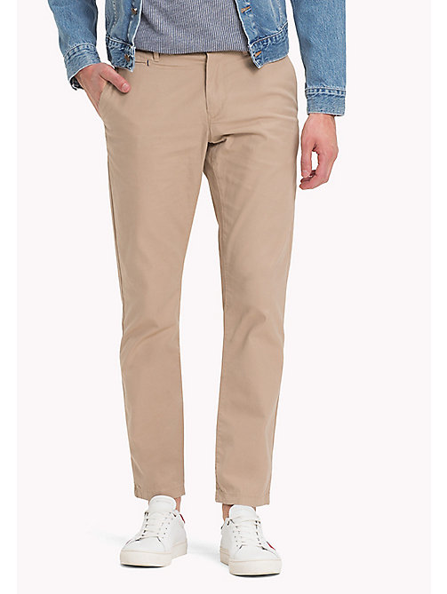 TOMMY HILFIGER Chinos - BATIQUE KHAKI - TOMMY HILFIGER Clothing - main image