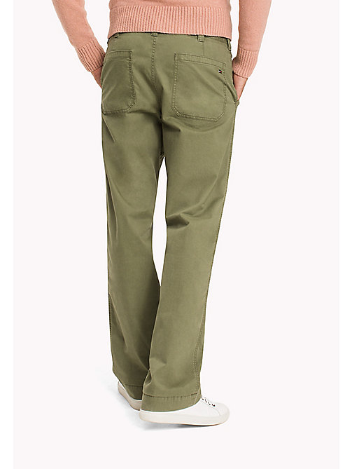 TOMMY HILFIGER Chino relaxed fit - FOUR LEAF CLOVER -  Pantalons - image détaillée 1