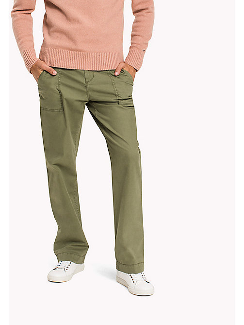 TOMMY HILFIGER Chino relaxed fit - FOUR LEAF CLOVER -  Pantalons - image principale
