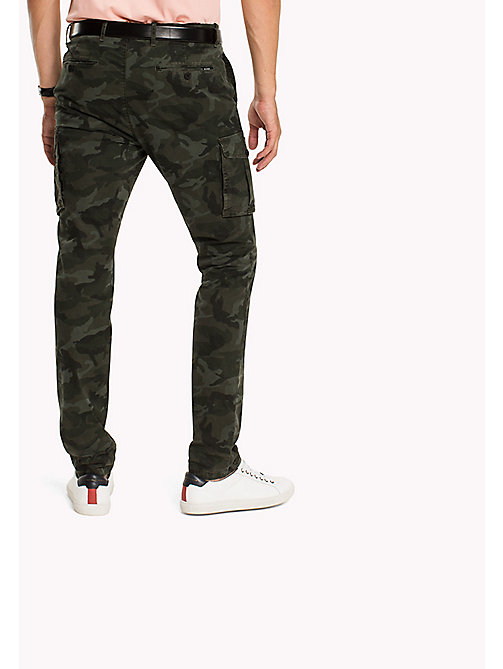 TOMMY HILFIGER Slim Fit Cargo Trousers - DEEP DEPTHS - TOMMY HILFIGER Trousers - detail image 1
