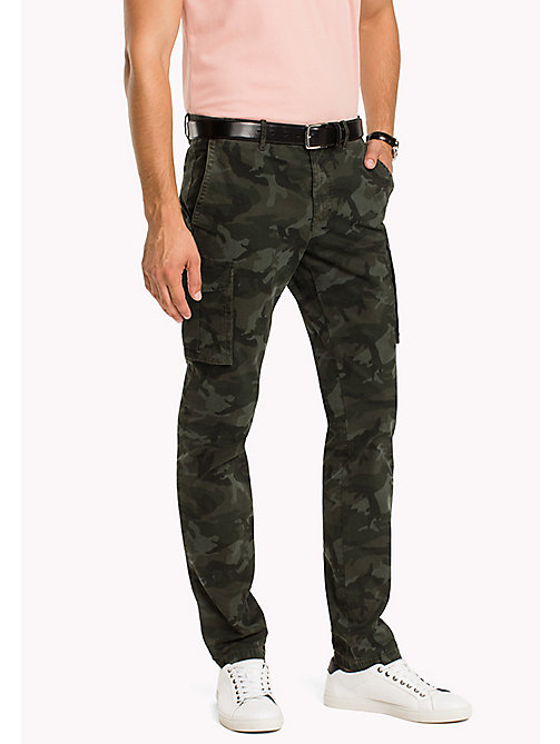 TOMMY HILFIGER Slim Fit Cargo Trousers - DEEP DEPTHS - TOMMY HILFIGER Trousers - main image