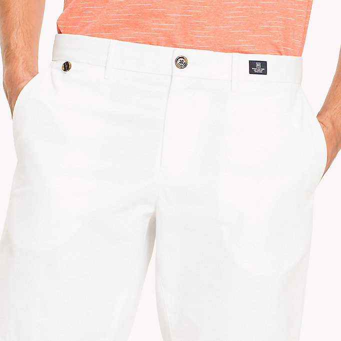 TOMMY HILFIGER Classic Regular Fit Cotton Shorts - ELMWOOD - TOMMY HILFIGER Men - detail image 3