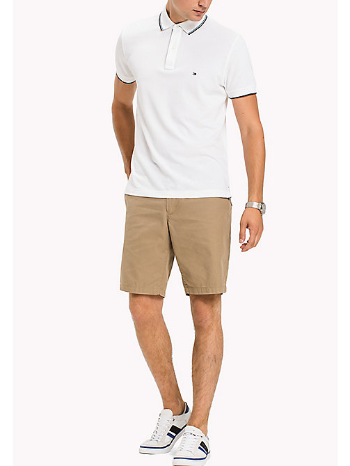 TOMMY HILFIGER Classic Regular Fit Cotton Shorts - ELMWOOD - TOMMY HILFIGER Shorts - main image