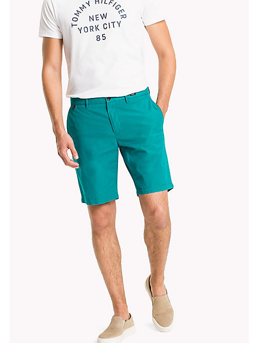 TOMMY HILFIGER Classic Regular Fit Cotton Shorts - FANFARE - TOMMY HILFIGER Clothing - main image