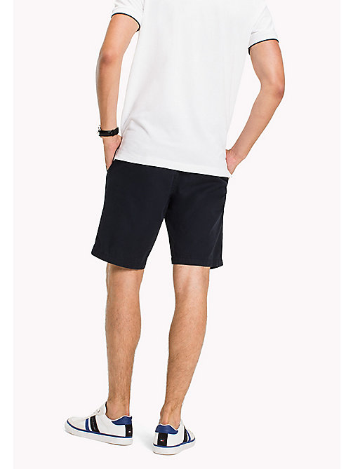 TOMMY HILFIGER Classic Regular Fit Cotton Shorts - SKY CAPTAIN - TOMMY HILFIGER Shorts - detail image 1