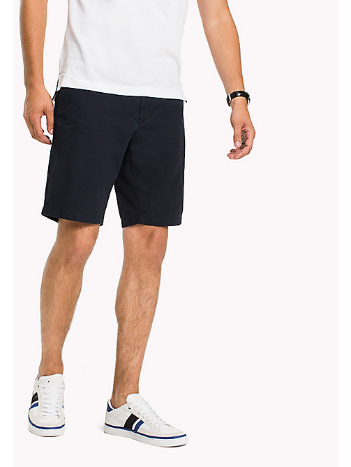 TOMMY HILFIGER Shorts classici regular fit in cotone - SKY CAPTAIN - TOMMY HILFIGER Pantaloncini - immagine principale